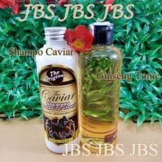 Shampoo Caviar Kuda - Red Ginseng Hair Tonic - Perawatan Rambut