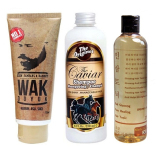 Review Terbaik Shampoo Caviar Kuda Wak Doyok Cream Penumbuh Jambang Kumis Bulu Jenggot Rambut 75Ml