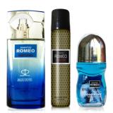 Toko Shantos Romeo Parfume Set Grey Mix Lengkap Jawa Timur