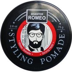 SHANTOS ROMEO STYLING POMADE WATERBASED (WATER BASED) STRONG HOLD 2.6 OZ