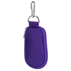 SHANYU Portable Gaya Gantungan Kunci 10-Kompartemen Minyak Pemegang Bagasi Case Tas-Internasional