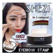 Shezi Stamp Eyebrow Korean Style Original  - Dark Brown