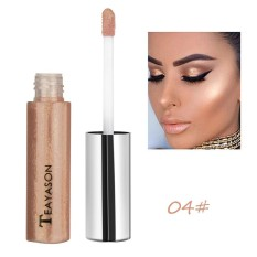 Shimmer Face Glow Liquid Highlighter Concealer Gloss Makeup Nude Shades - intl
