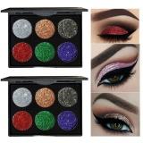 Spesifikasi Shimmer Glitter Eye Shadow Bubuk Palet Eyeshadow Matte Kosmetik Makeup B Intl Lengkap Dengan Harga