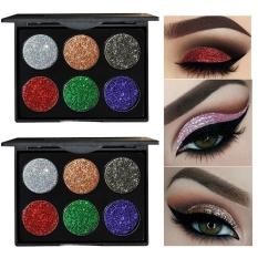 Jual Shimmer Glitter Eye Shadow Bubuk Palet Eyeshadow Matte Kosmetik Makeup B Intl Branded Murah