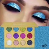 Jual Shimmer Glitter Eye Shadow Powder Palette Matte Eyeshadow Cosmetic Makeup Intl Lengkap