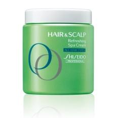 [Official Shiseido Online Salon] FREE DUTY PRICE Shiseido Professioanal NEW Hair & Scalp Refreshing Spa Cream for All Hair Types 500ml