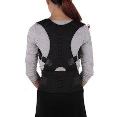 Spesifikasi Shoulder Suporte Belt Corrector Corset Back Belt Straightener Brace Shoulder Corrector De Posture Size L Intl