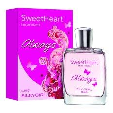Promo Silkygirl Sweetheart Always Edt 50Ml Di Indonesia