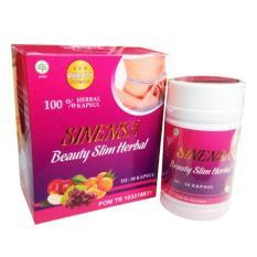 Jual Cepat Sinensa Beauty Slim Herbal Kapsul Isi 50 Kapsul