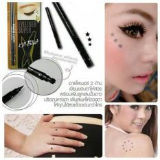 SIVANNA COLORS ORIGINAL THAILAND EYELINER DUO EYELINER SUPER KILLBLACK