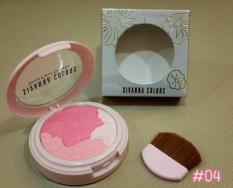 SIVANNA COLORS ORIGINAL THAILAND GLOW FLEUR CHEEKS BLUSH ON