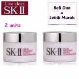 Beli Sk Ii Skii Gentle Cleansing Cream 15G X 2Unit Beli Dua Lebih Murah Sk Ii Dengan Harga Terjangkau