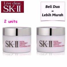 Harga Sk Ii Skii Gentle Cleansing Cream 15G X 2Unit Beli Dua Lebih Murah New