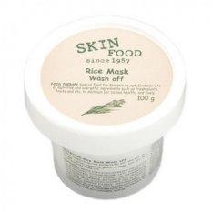 Harga Skin Rice Mask Wash Off 100Gr Asli