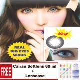 Harga Sky Soul Baby Eyes Softlens Gray Gratis Lenscase Cairan 60Ml Original