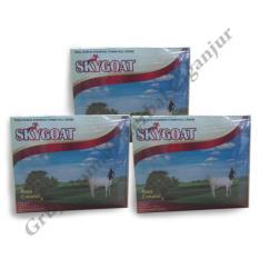 Skygoat Susu Bubuk Kambing Etawa (Rasa Cokat) Paket 3 boks