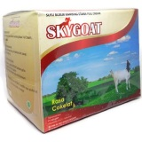 Jual Skygoat Susu Kambing Bubuk Etawa Coklat 1Box Baru