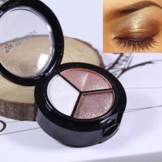 Smoky Cosmetic Set 3 colors Professional Natural Matte Makeup Eye Shadow - intl