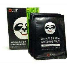 Review Snp Animal Mask Masker Panda 10 Pcs Dapat Box Jawa Timur