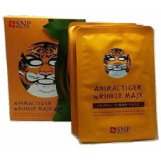 Beli Snp Animal Mask Tiger Harga Per 10 Pcs Dapat Box Snp Asli