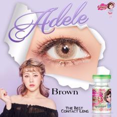 Softlens Adele (Pretty Doll) - Brown - Gratis Lens Case