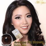 Jual Softlens Avenue Fx Brown Gratis Lens Case Import