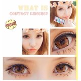 Promo Softlens Candy Rainbow Brown Gratis Lens Case Baby Color