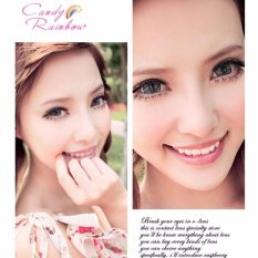 Jual Softlens Candy Rainbow Grey Gratis Lens Case Online Di Indonesia