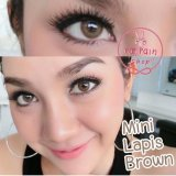Jual Softlens Dreamcolor Mini Lapis Brown Gratis Lens Case Termurah