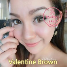 Review Softlens Dreamcolor Valentine Brown Gratis Lens Case Terbaru