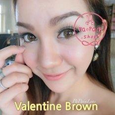 Review Toko Softlens Dreamcolor Valentine Brown Gratis Lens Case Online