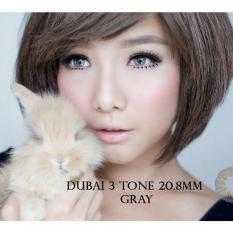 Beli Softlens Dubai 3 Tones Grey Gratis Lens Case Cicilan