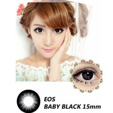 Harga Softlens Eos Baby Black Gratis Lens Case Online Indonesia