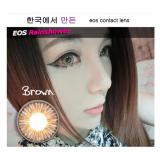 Spesifikasi Softlens Eos Rainshower Brown Gratis Lens Case Online