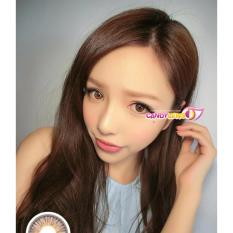 Softlens EOS RainShower - Brown KEMENKES + Free Lens Case