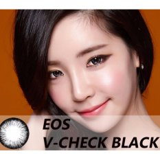 Softlens EOS V-Check - Black - Gratis Lens Case
