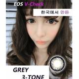 Harga Softlens Eos V Check Grey Gratis Lens Case Eos Contact Lens Original