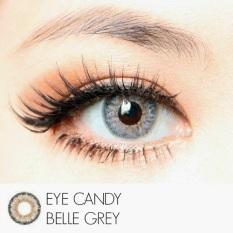 Beli Softlens Eye Candy Belle Grey Gratis Lens Case Yang Bagus