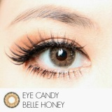 Beli Softlens Eye Candy Belle Honey Gratis Lens Case Online Murah
