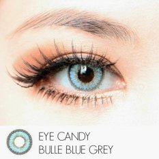Kualitas Softlens Eye Candy Bulle Bluegrey Gratis Lens Case Eye Candy