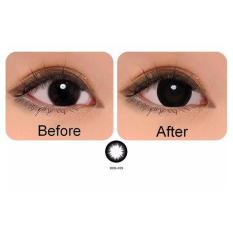 Jual Softlens Geo Hyper Black Gratis Lens Case Geo Medical Murah