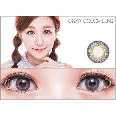 Review Softlens Geo Magic 3 Tone Grey Gratis Lens Case