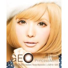 Softlens Geo Princess Mimi Almond Gratis Lens Case Indonesia Diskon