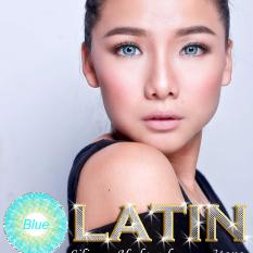 Softlens Latin 3 Tone - Blue - Gratis Lens Case