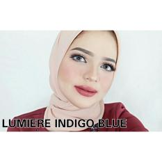 Jual Softlens Lumiere Indigo Blue Normal Only Online