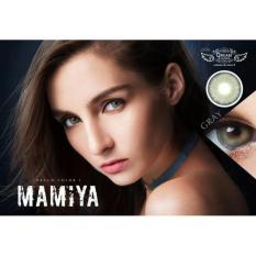 Spesifikasi Softlens Mamiya Grey By Dreamcon Beserta Harganya