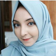 Harga Softlens Mini Ava Blue Gratis Lens Case Kitty Kawaii Baru