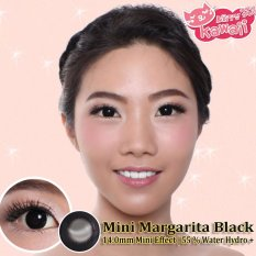Jual Softlens Mini Margarita Black Gratis Lens Case Import