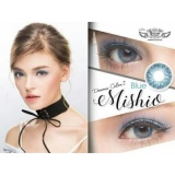 Jual Softlens Mishio Blue By Dreamcon Normal Only Ori